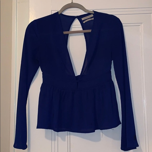 Urban Outfitters Tops - Blue sheer blouse